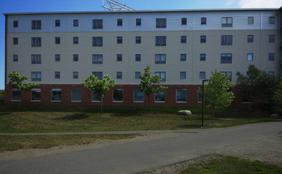 Husson University Dorm And Learning Center A Lajoie